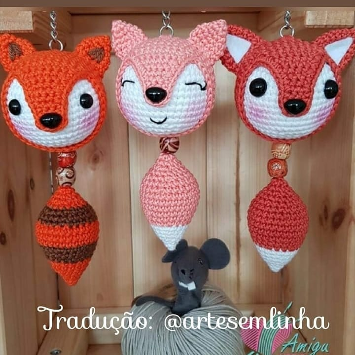 PATTERN: Red Fox - Amigurumi fox pattern - Crochet tutorial with ... | 720x720