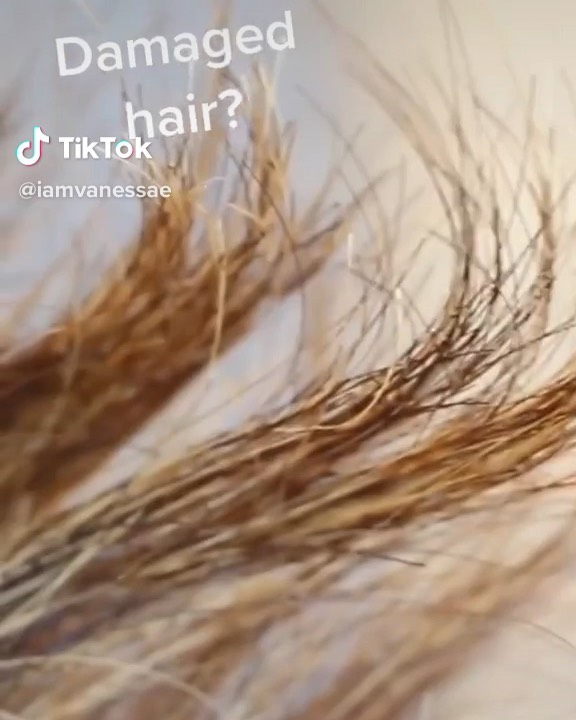 Try This Mask For Damaged Hair! Tag A F Hairstyles - Hairstyles For Girls