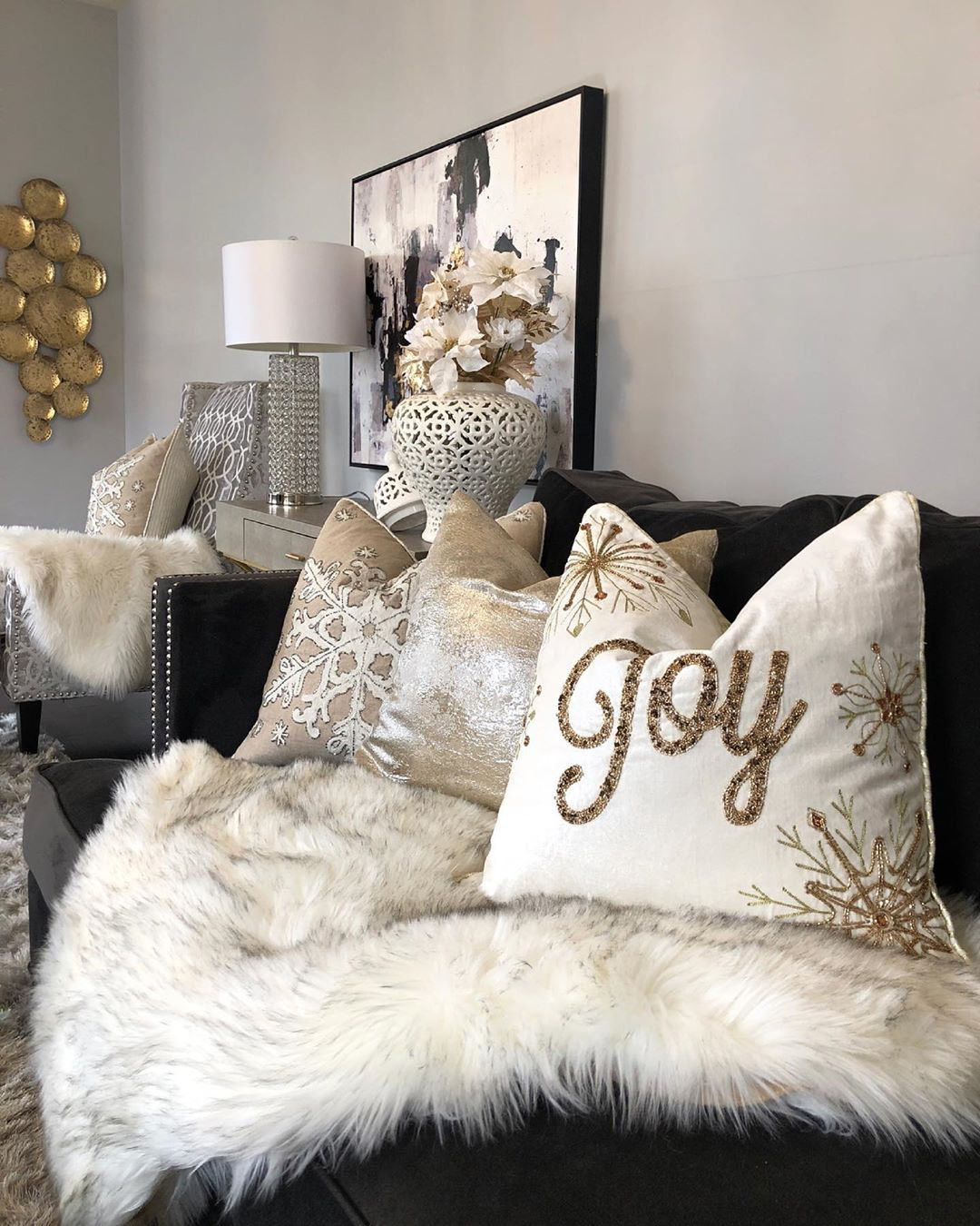 Happy New Month Guys! So, It'S Officiall Christmasdecor - Living Room