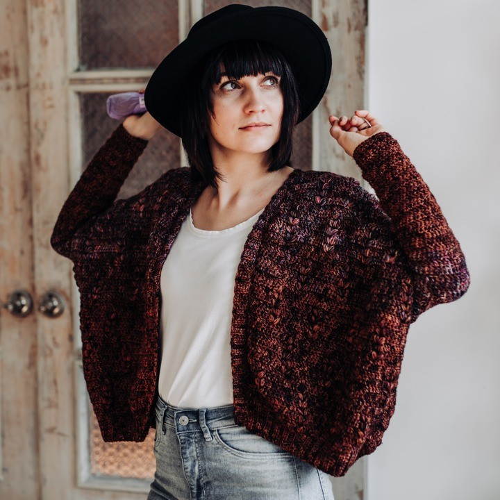 Shout Out To All Cardi People! ⠀⠀⠀⠀⠀⠀⠀⠀⠀ Lindaskuja - Crochet Cardigan