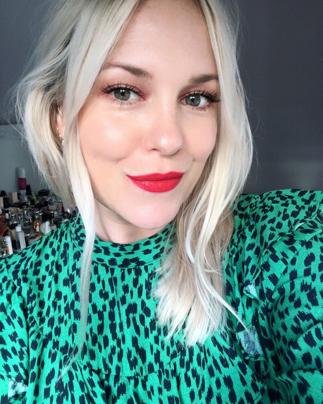 My Inner Elf Coming Through In Green And Diormakeup - Makeup Ideas