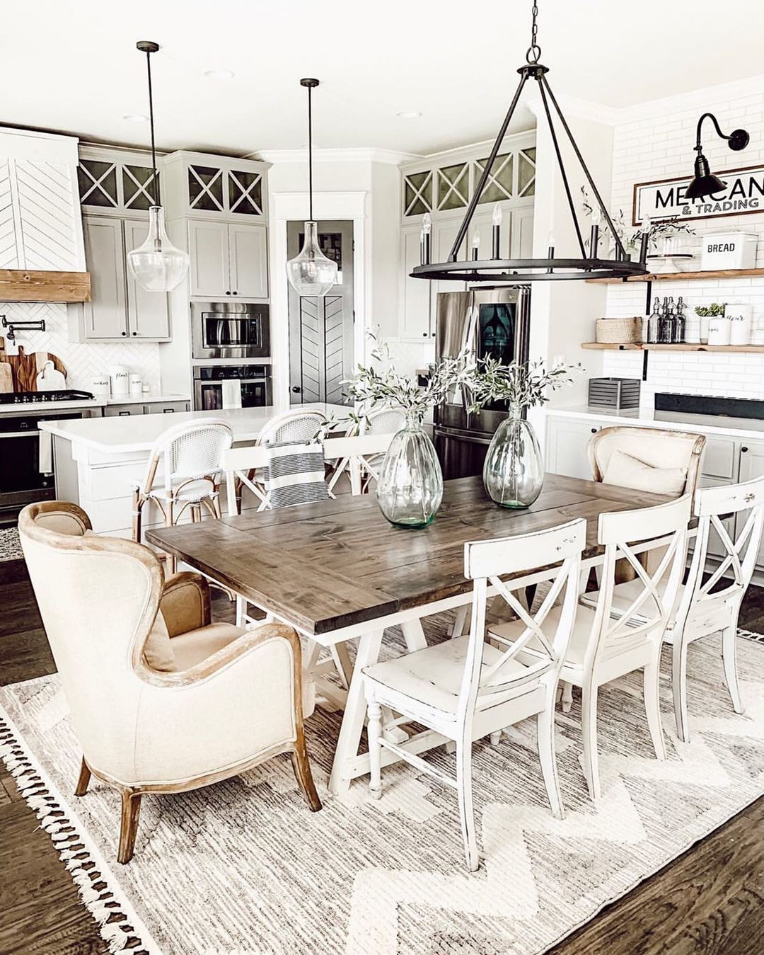 Dining Rooms Are For Gathering Together Arearug - Home Decor