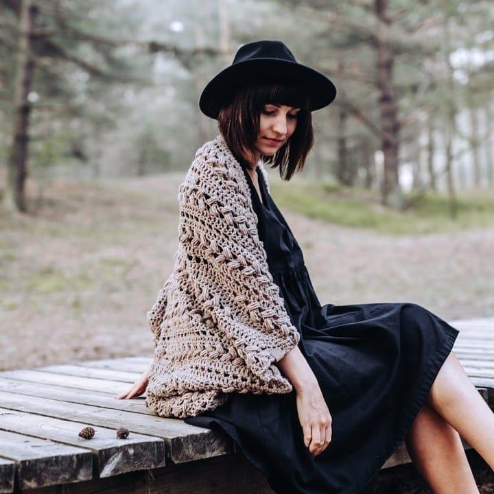 Today I Remembered Of Throwback Thursday Lindaskuja - Crochet Cardigan