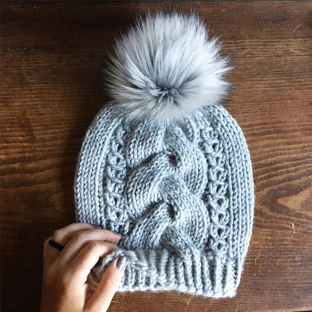 Yes! You Can Knit Cables. This Beanie De Mybluprint - Knitting