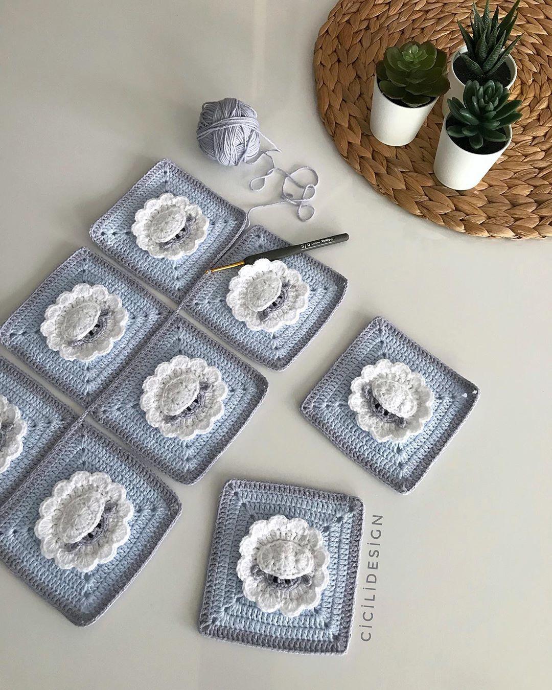 Günaydın 💙 Herkese Mutlu Bereketli Bebekbattaniyesi - Baby Crochet