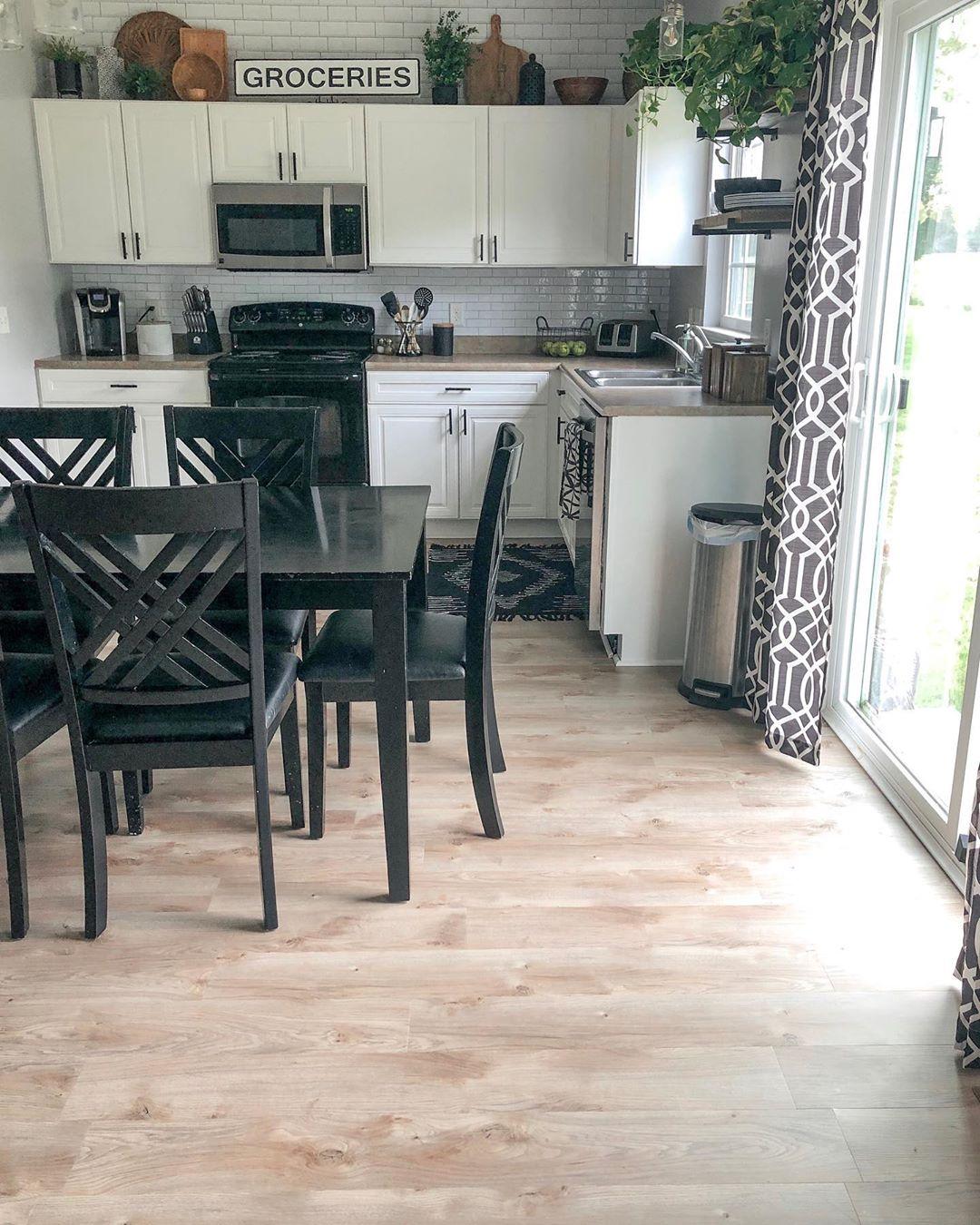 Our Builder Grade Kitchen Has Come A Lon Buildergradeupgrade - Diy Home Decor