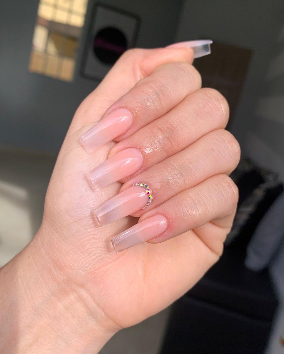 Glass Ombré! Nailart Cut Cuticleoil - Nails