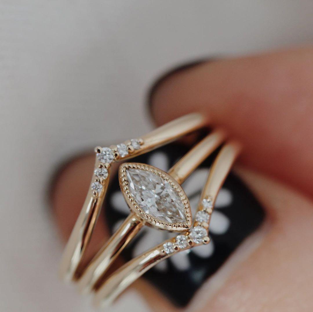 Peak To Peak — Osa & Ada Rings - Jewelry