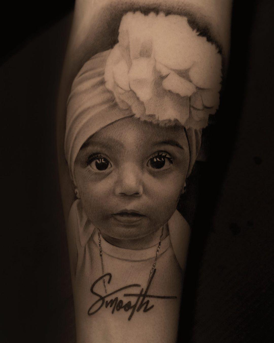 Tattoo Done With Bishoprotary 💪 At Va Tattoorealistic - Tattoos