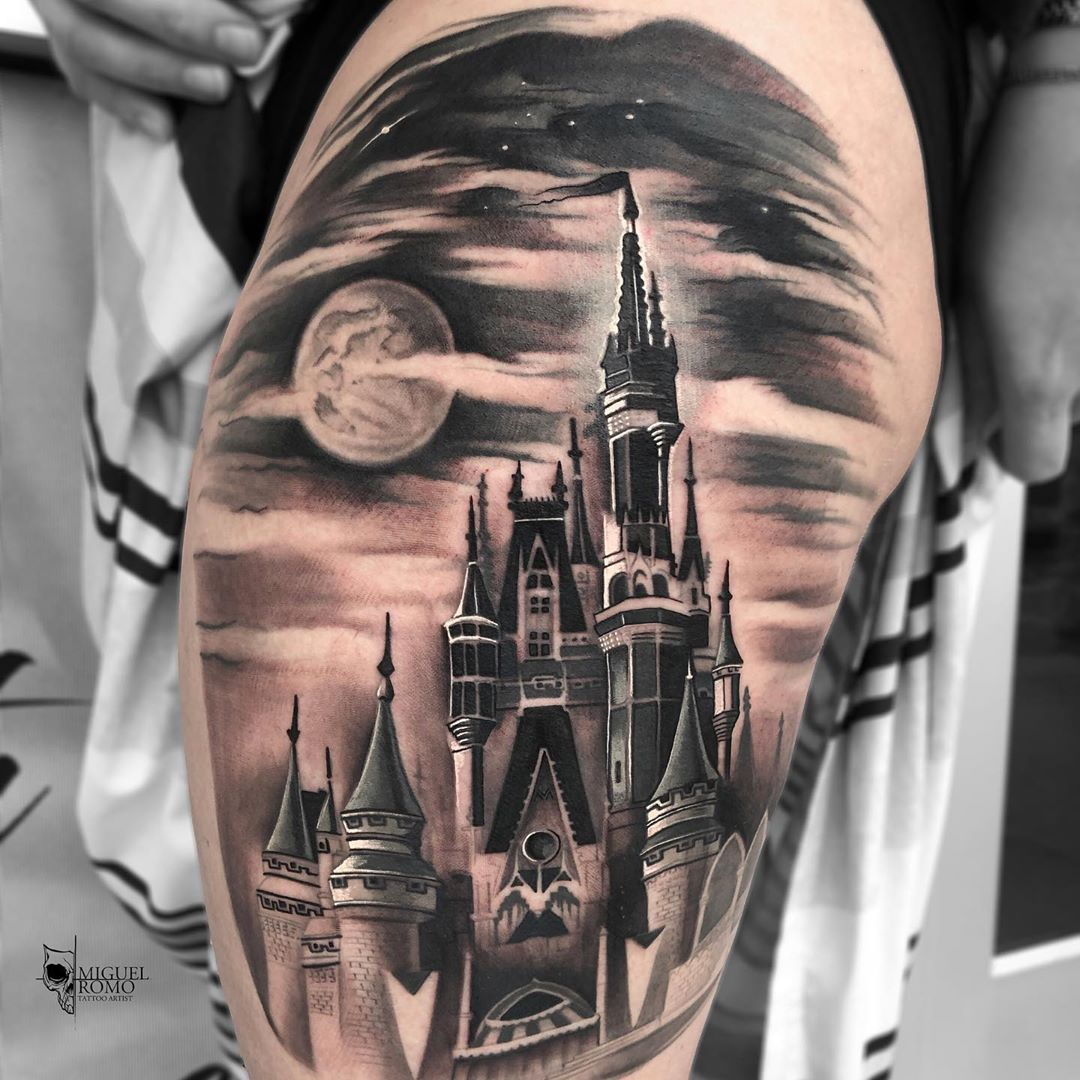 • Magic Kingdom • 🏰❤️ . . Realistictat Realisticink - Tattoos
