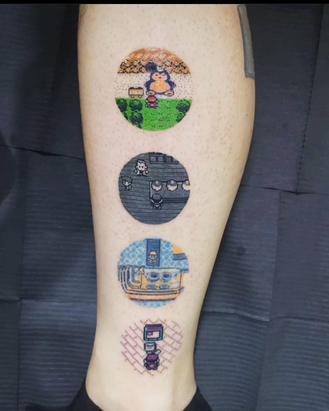 Tattoo Tattoos Resident — • Pokemon Tattoos - Tattoos