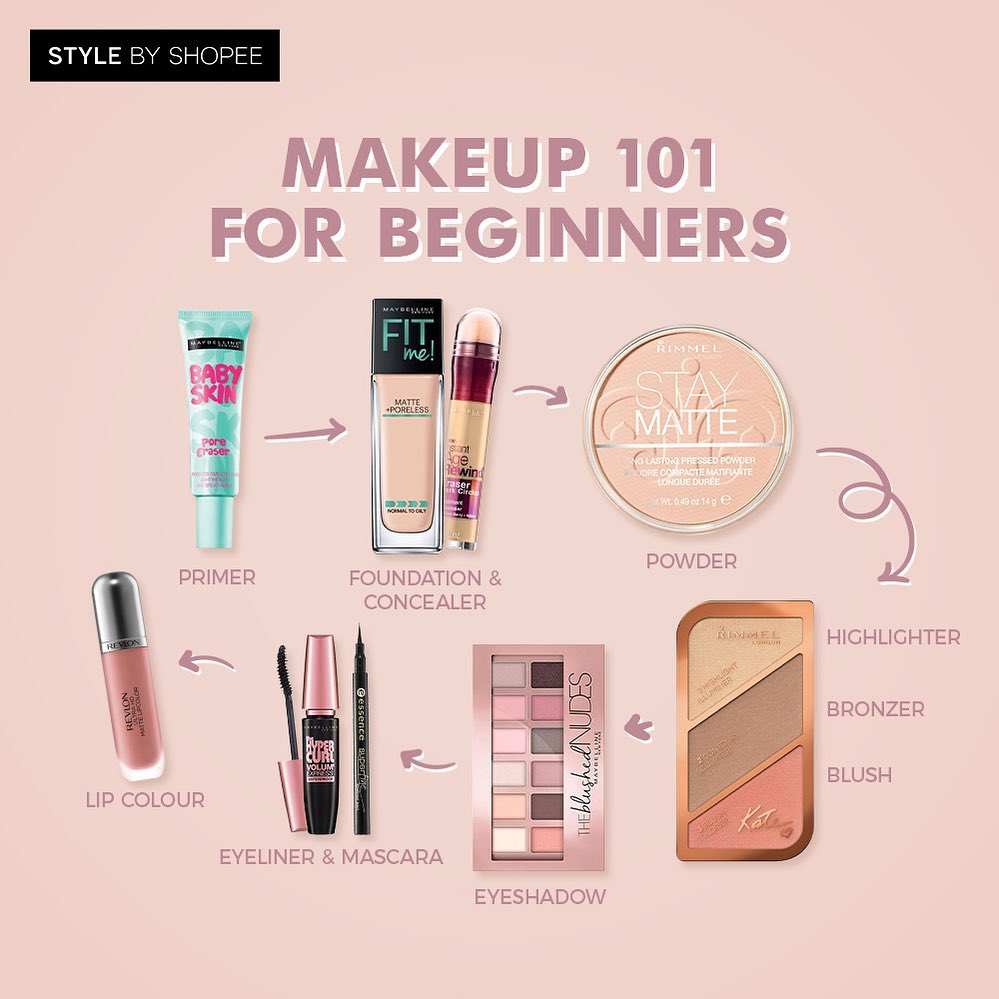 Makeup Can Be So Confusing So We Decided Shopeemy - Makeup For Beginners