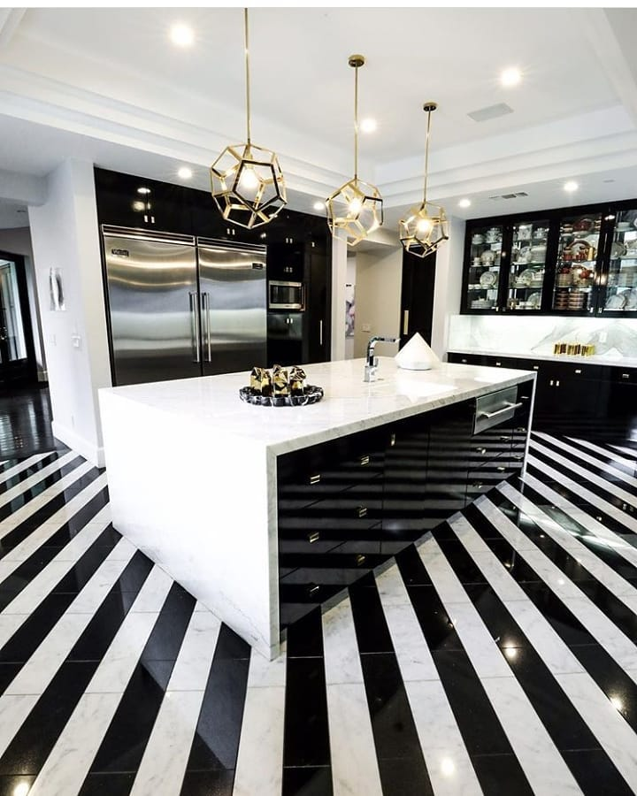 How Cool Are These Floors Guys? What Do Kitchen - Home Decor