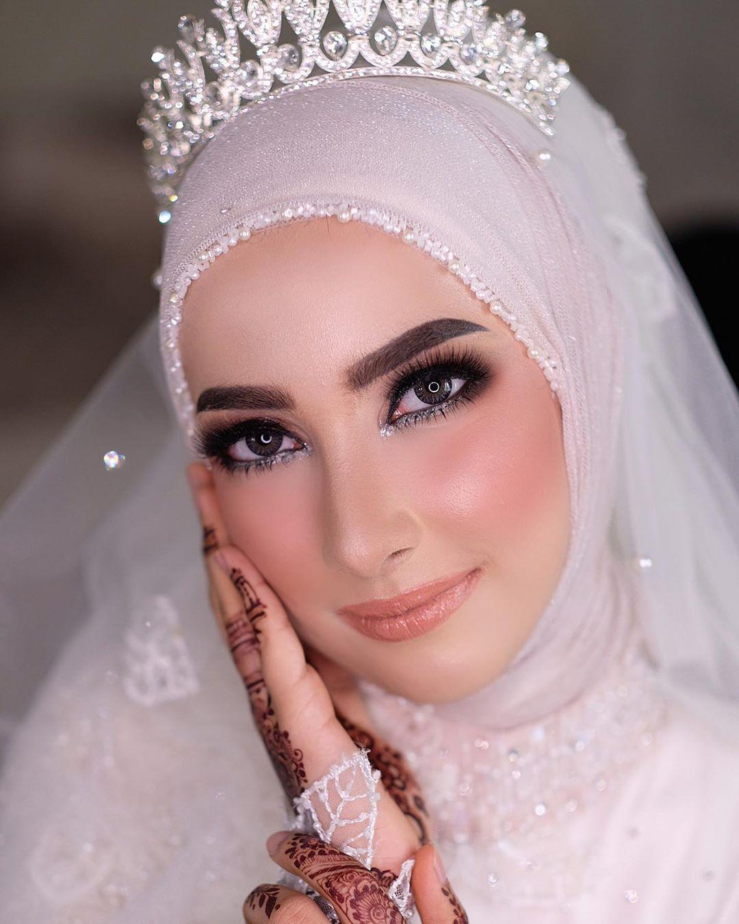 Reception Makeup For Sarah Haidar💕 (Tan Makeupartistjakarta - Wedding Makeup