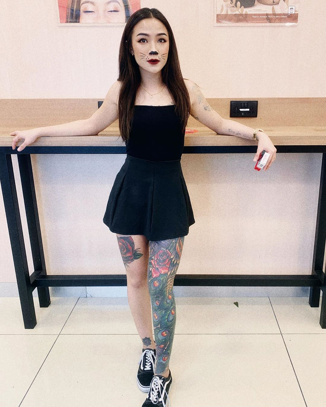It'S A Meow Kinda Day. 😺 Happy Hallowee Tattoo - Tattoos