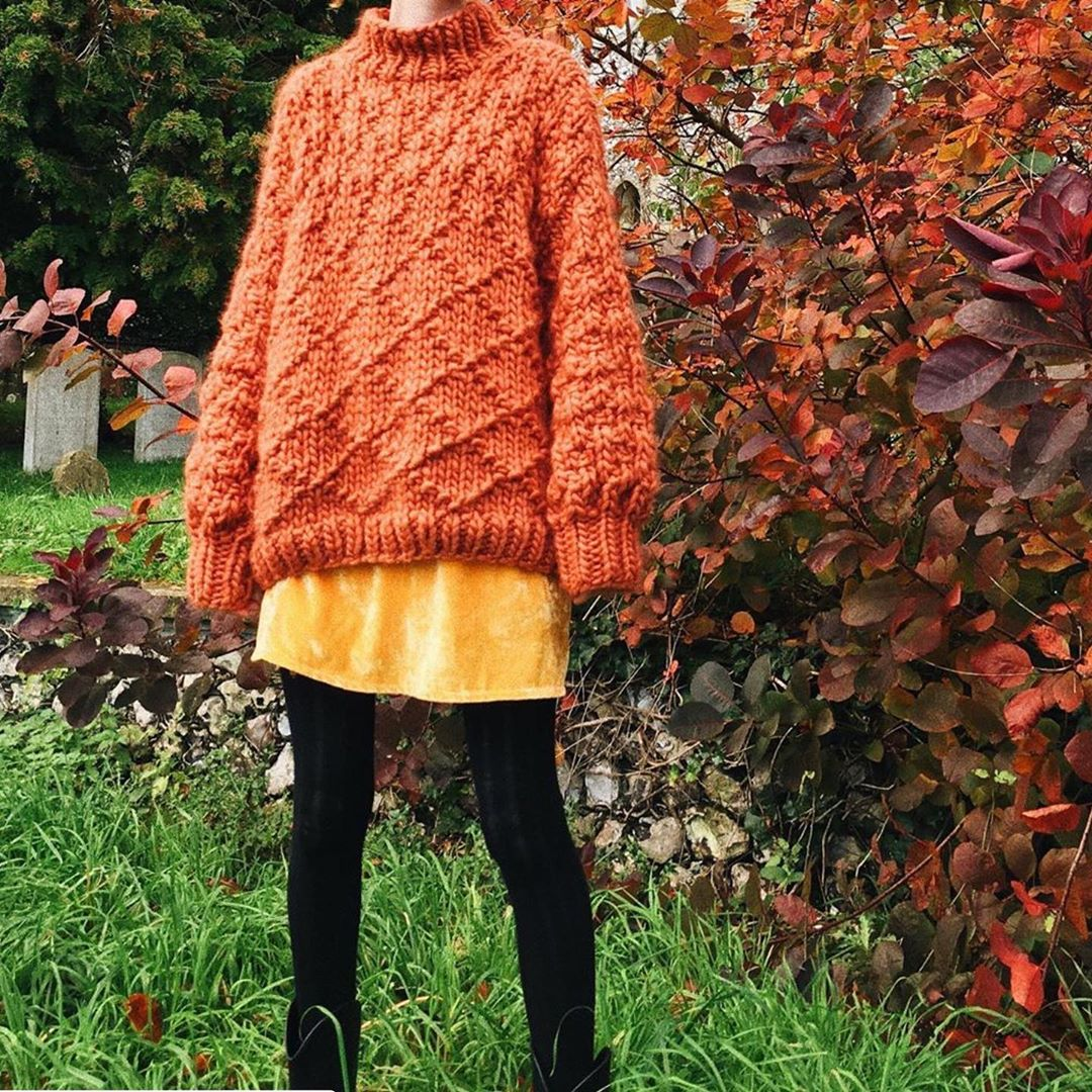 Autumn Colors 🍁 By Virgo.Knits - Chunky Knit