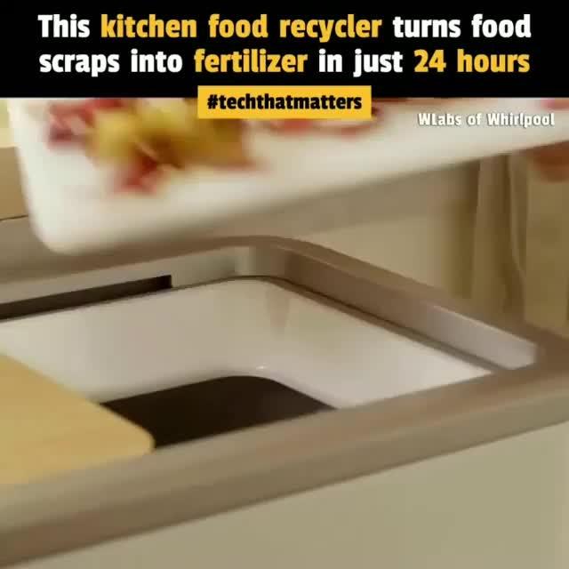 This Easy-To-Use Food Recycler Turns Foo Savetheplanet - Gardening