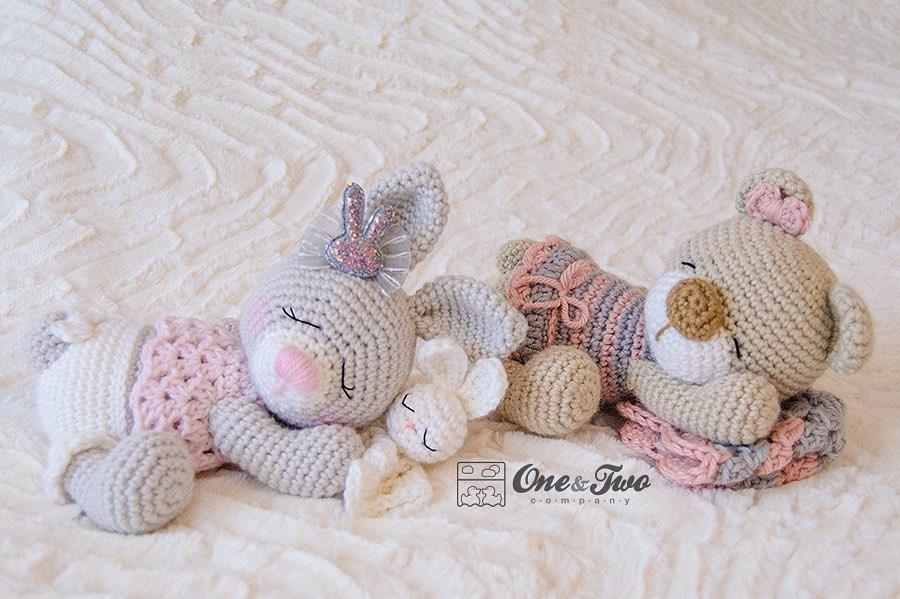 Norah The Teddy Bear 🐻 Or Zuri The Bunn Crochet - Baby Crochet