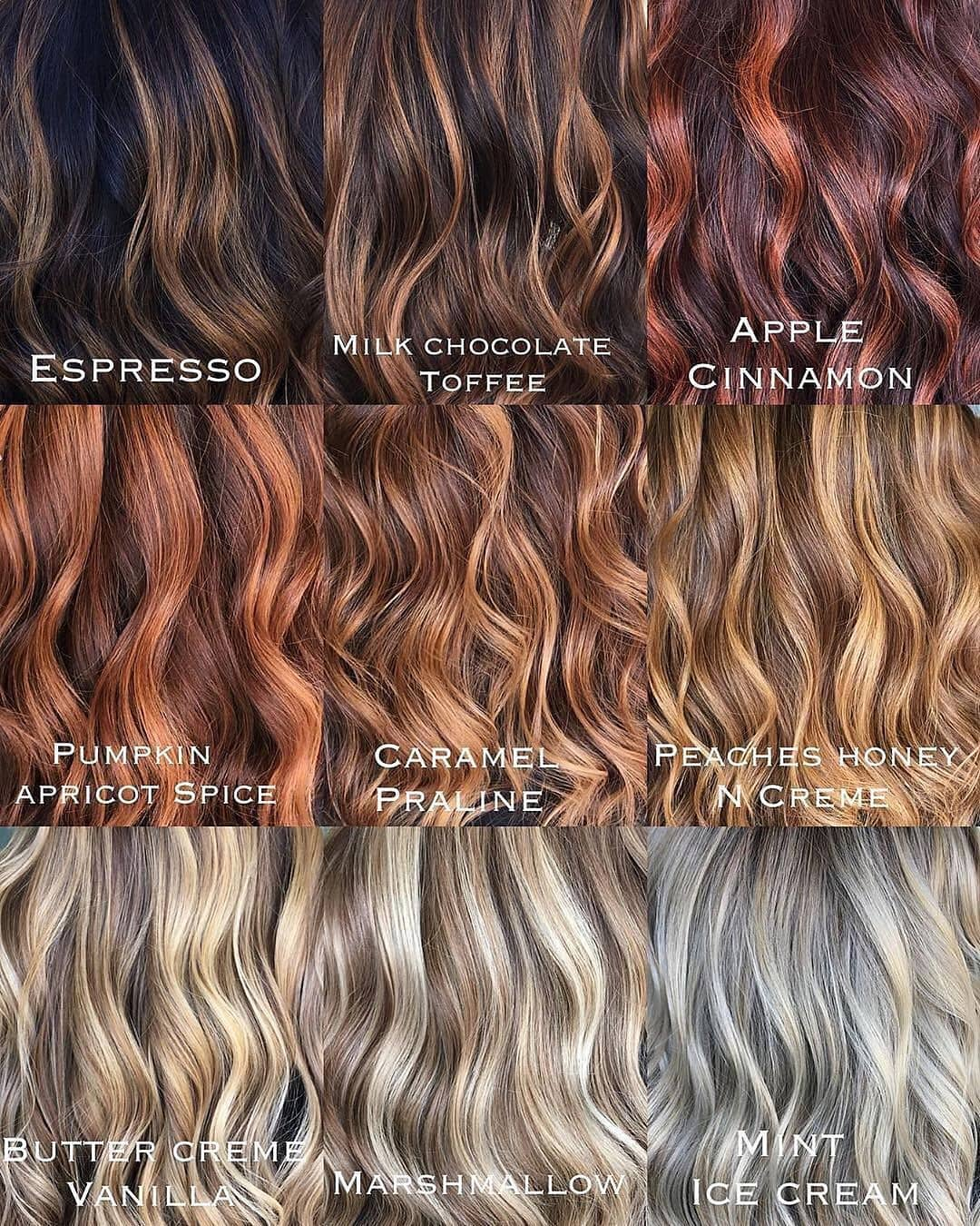 Which One Is Your Favorite??? Comment Pl Haircolor - Hair Tutorial