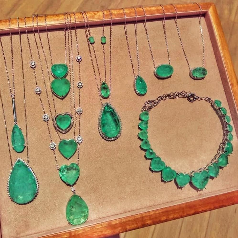 Nossas Lindas Esmeraldacolombiana 💚💎✨ Marinabarberiojoias - Jewelry