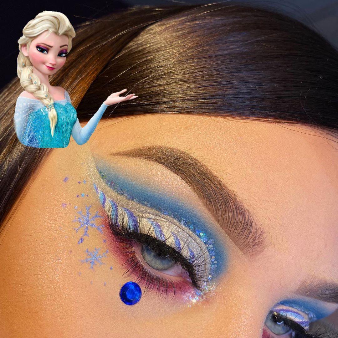 Elsa ❄️ Ad* Second Day Of My Frozen 2 M Beauty - Art