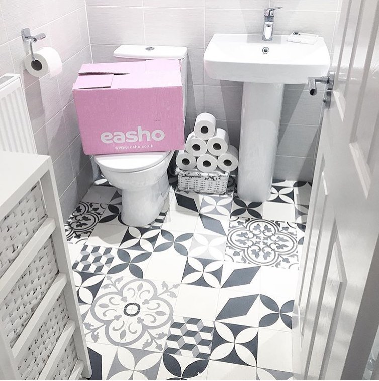 Who Knows What I Did Before Eashouk !? Greybathroom - Home Accessories
