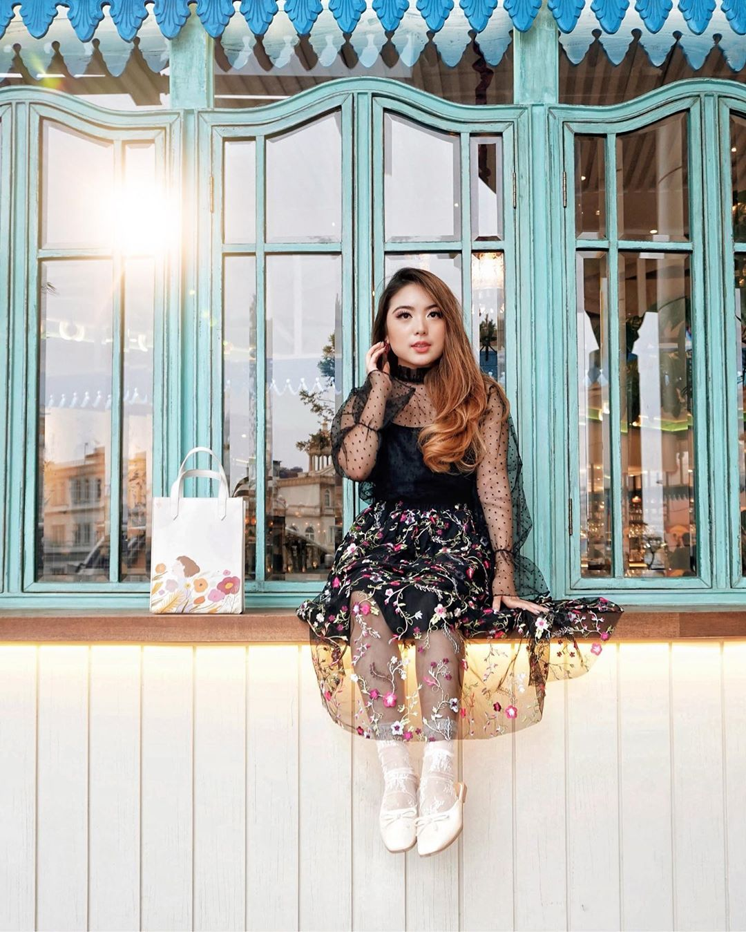 In My Zone With Tulle & Floral Prints. F Whatiwore - Womens Fashion