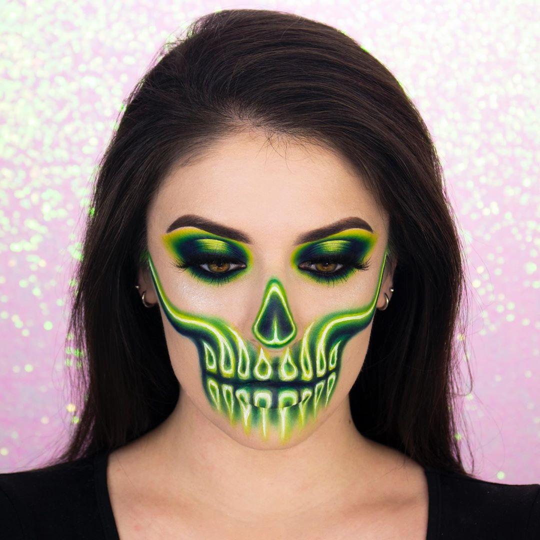 💀💚Green Neon💚💀 Do You Still Wanna Se Makeupvideo - Makeup Video