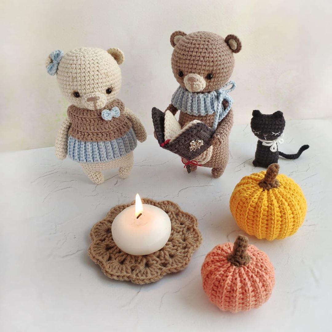 Happy Halloween, Friends!🎃🎃🎃 I Am Run - Baby Crochet