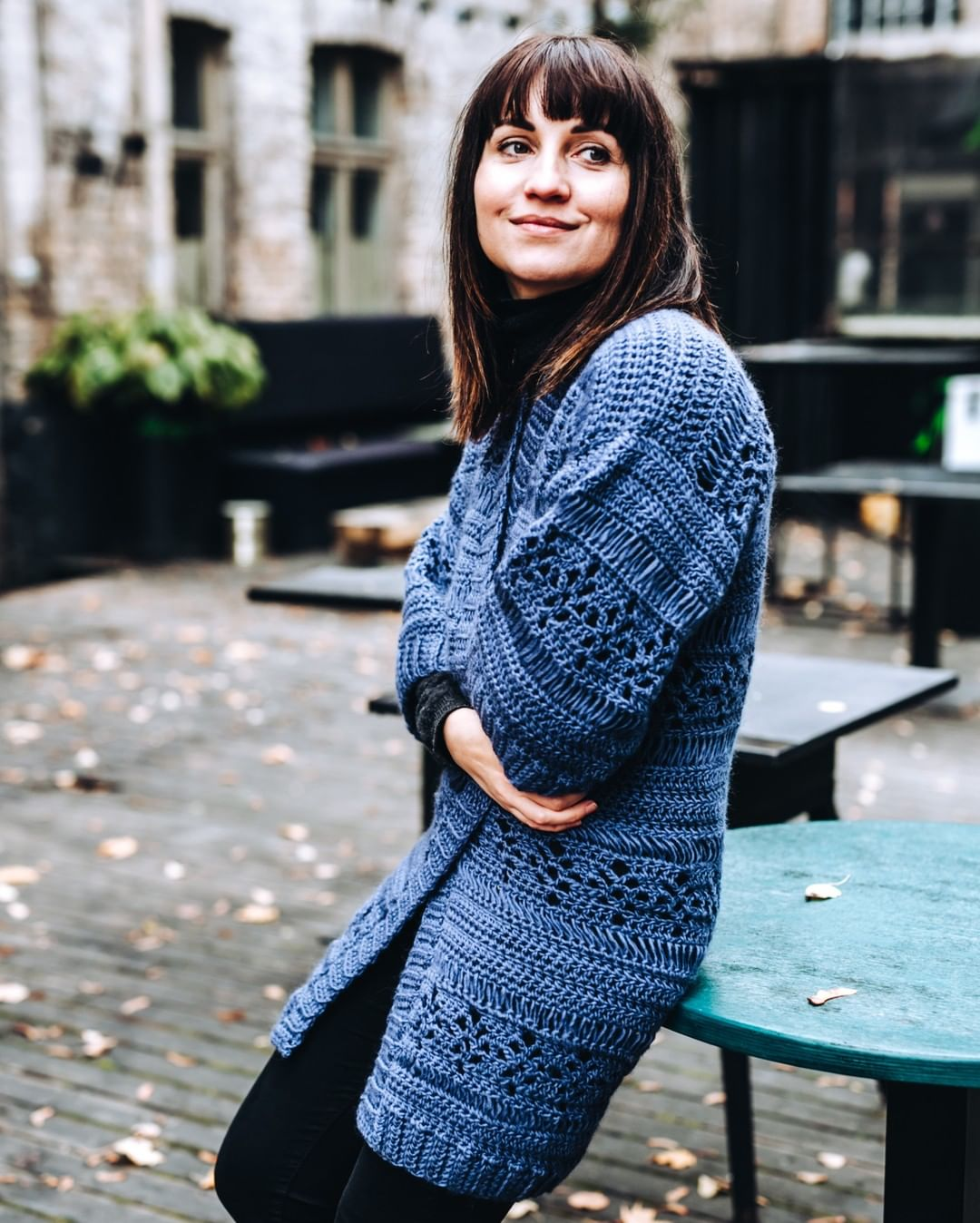 Can There Be Too Many Throw-It-On Pieces Lindaskuja - Crochet Cardigan