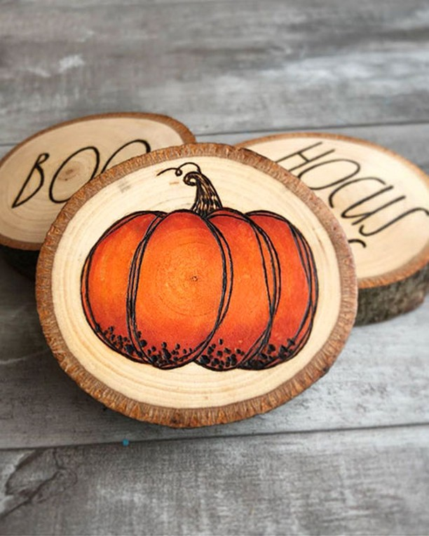 Who Wood-N't Want To Add Some Hocus Pocu Blickartmaterials - Diy Home Decor
