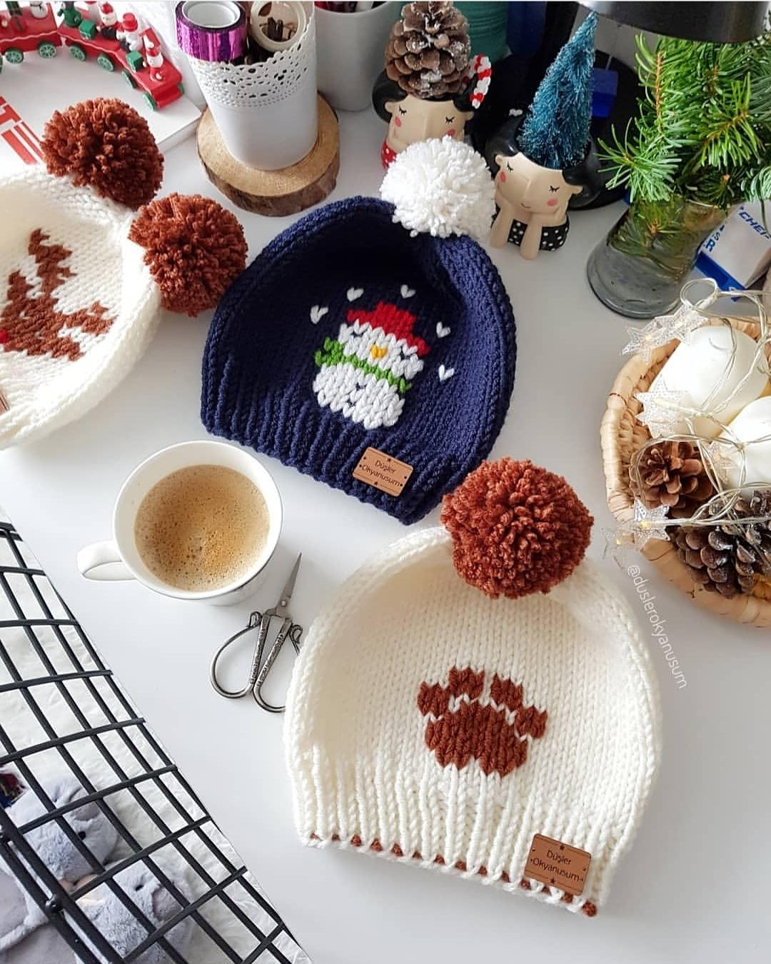 Tbt 🦌🌿🐾🌿☃️ Mutlu Akşamlar ❤ . . . . Knitters - Chunky Knit