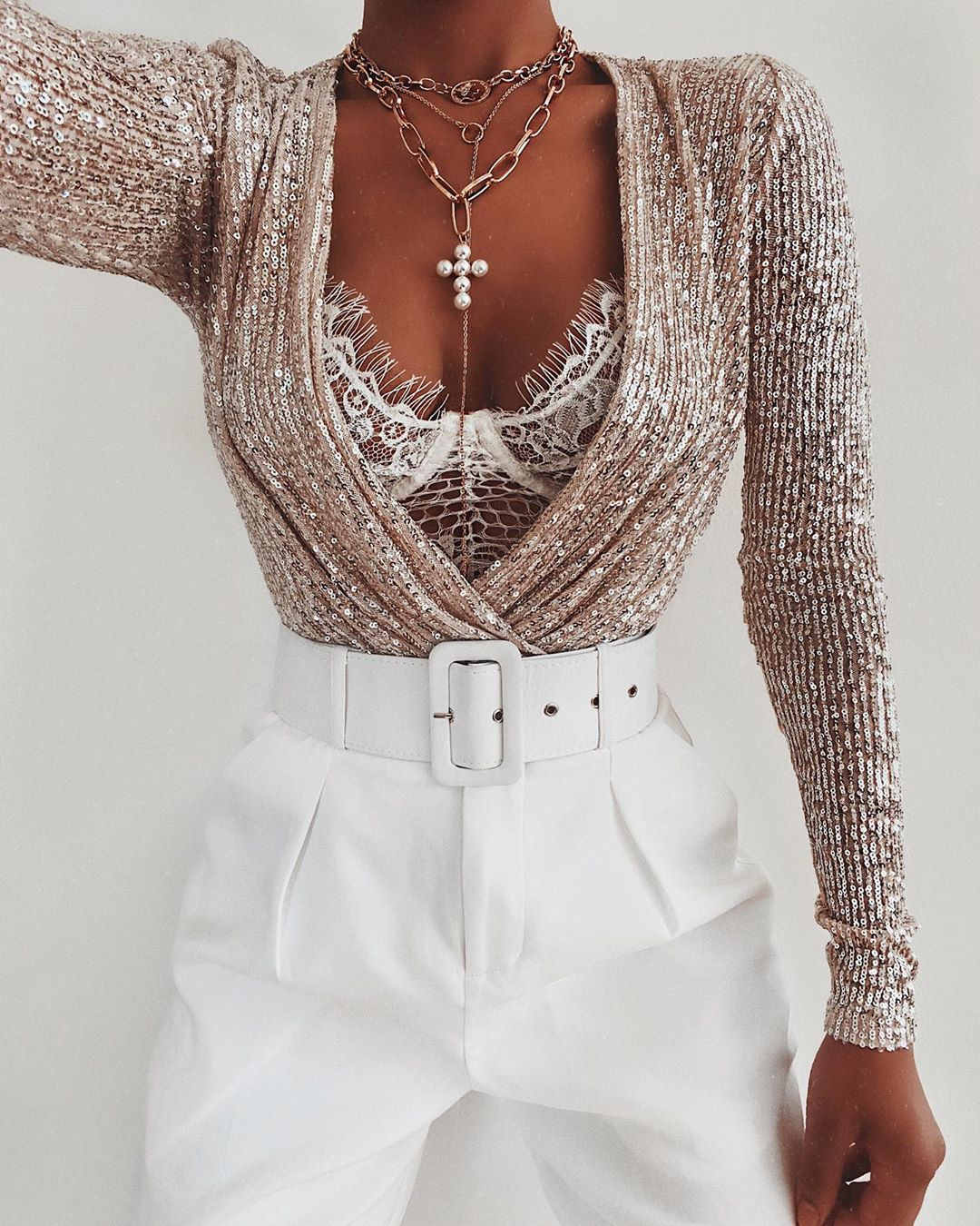 Another Way To Style This Stunning Bodys - Jewelry