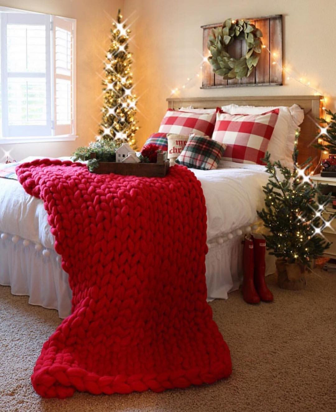 There Are Many Blessings Along This Ig J Thedesigntwinslovechristmas - Chunky Knit