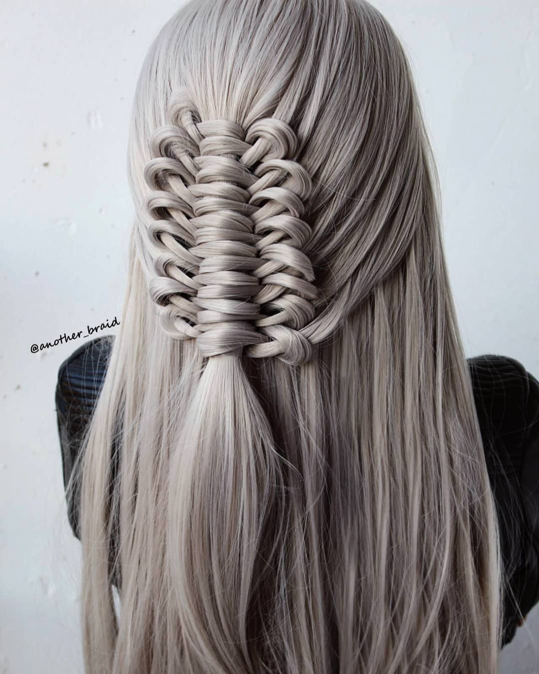 The Tutorial For This New Braid Is Up On Braidingvideo - Hair Tutorial
