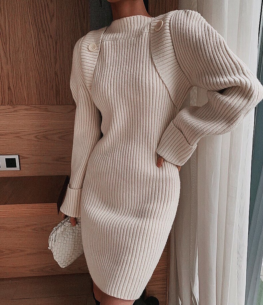 Black Friday Access | 50% Off Sitewide! - Knit Dress