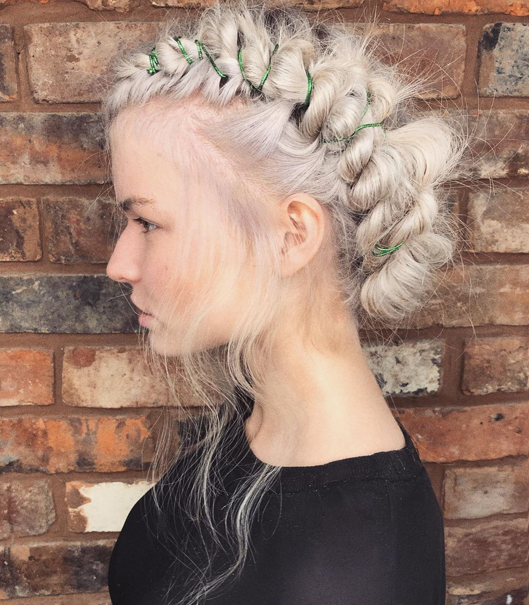 Twisted Double Embellished Rope Twisted Bighair - Hair Cut