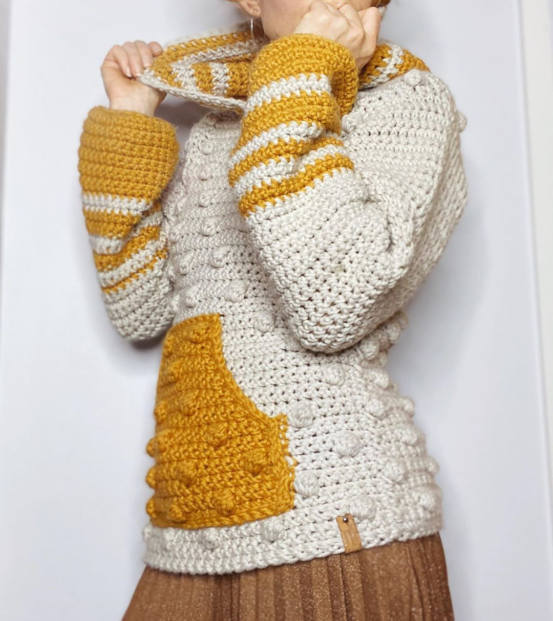 It Was Finally A Colder Day Here, -12'C. Crochet - Crochet Tutorial