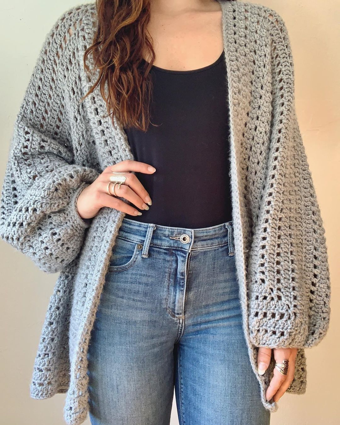 Making My Mans Take Me Out On A Day Date Loopsandthreads - Crochet Cardigan