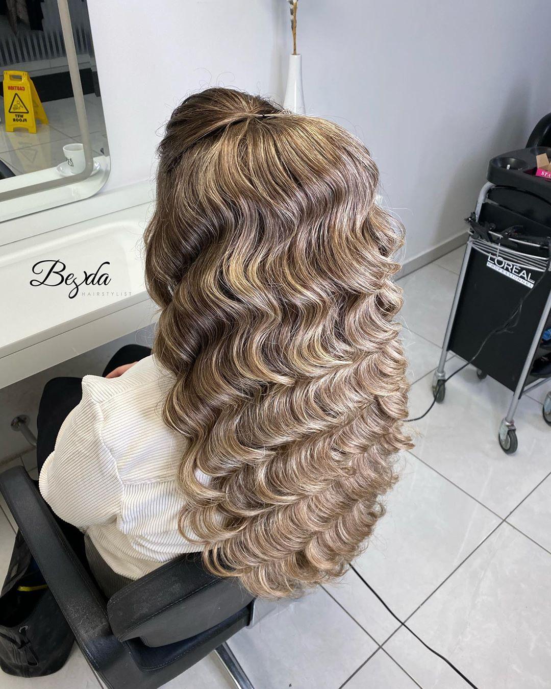 🤍 Ab Montag (02.03.) Vergebe Ich Die Ga Wasserwelle - Hair Ideas
