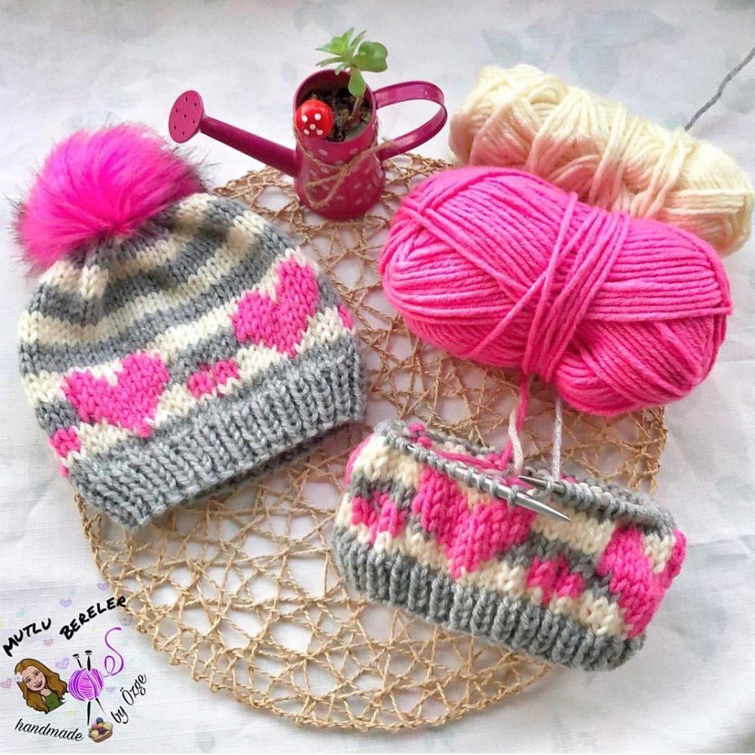 Bol Güneşli Bir Günden Günaydın Herkese Knittinghat - Crochet Hat