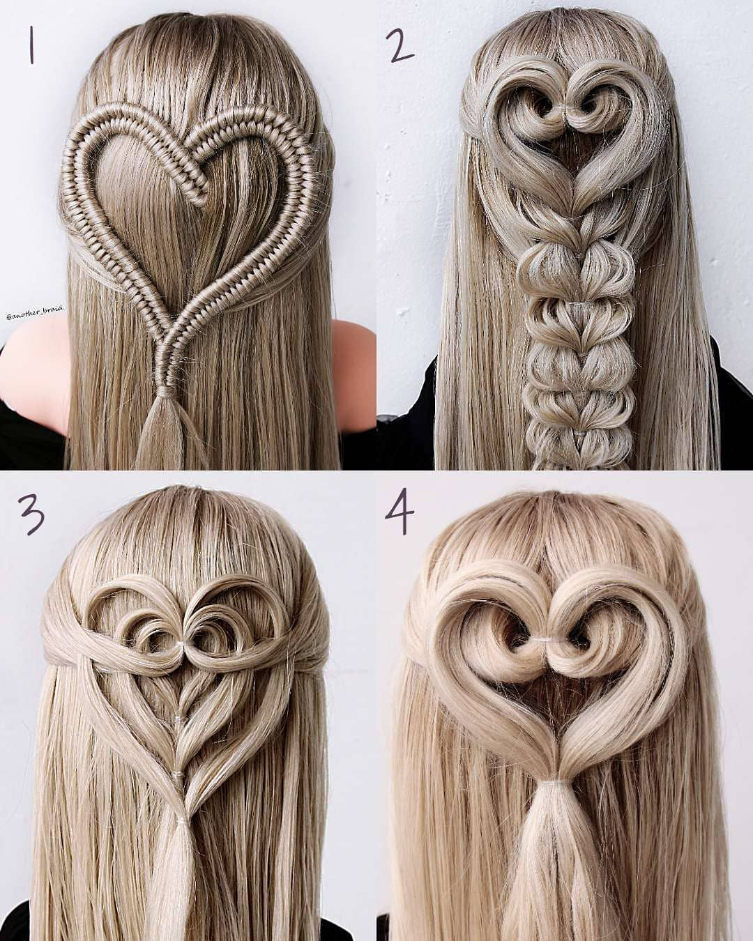 1-4 Which One Is Your Favourite? You Can Hairtutorial - Hair Video