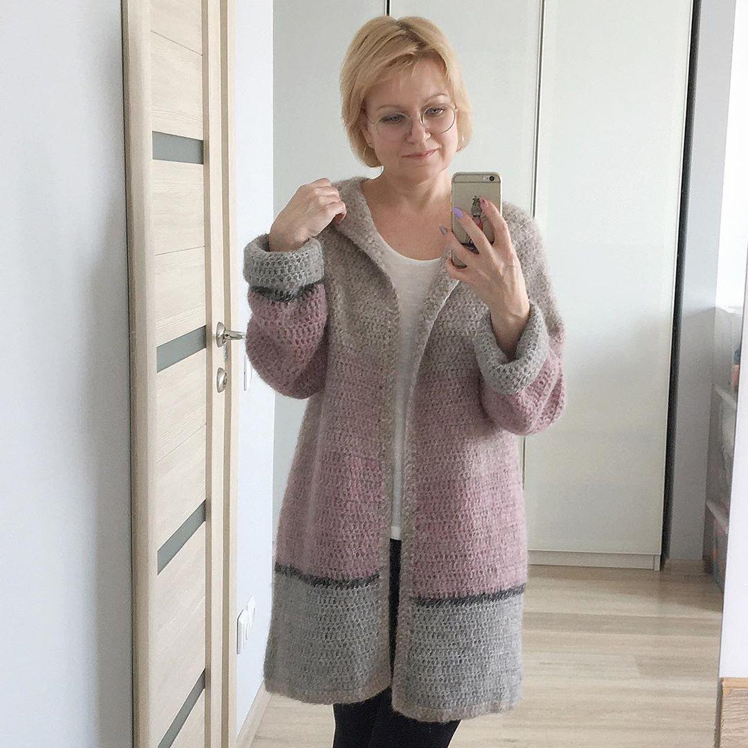 Друзья, Всех С Весной!🌷 А Мне Пришлось Вязание - Crochet Cardigan