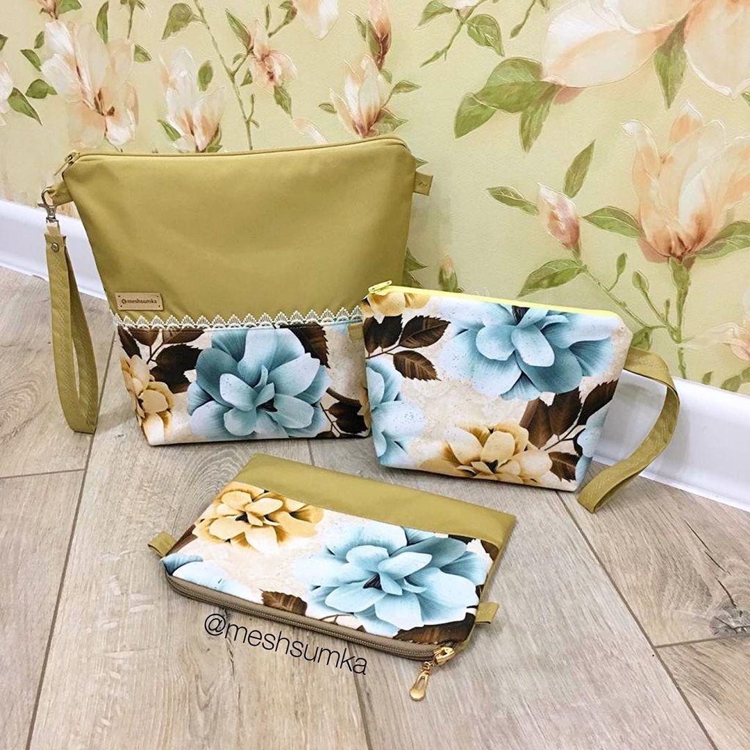 Набор Проектных Сумок (В Наличии) - 2240 Проектныесумки - Knitting Bag