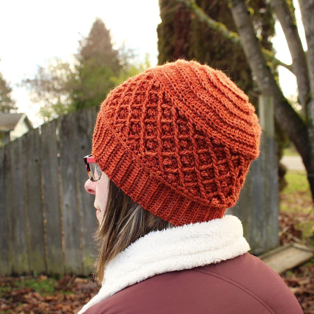 📣 Pattern Release Ivy Trellis Beanie📣 Nhgcrafts - Crochet Hat
