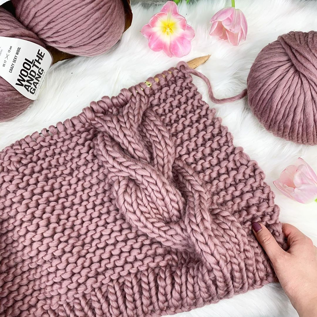 Knitting Cables For The Very First Time. Maschenmontag - Knit Cardigan
