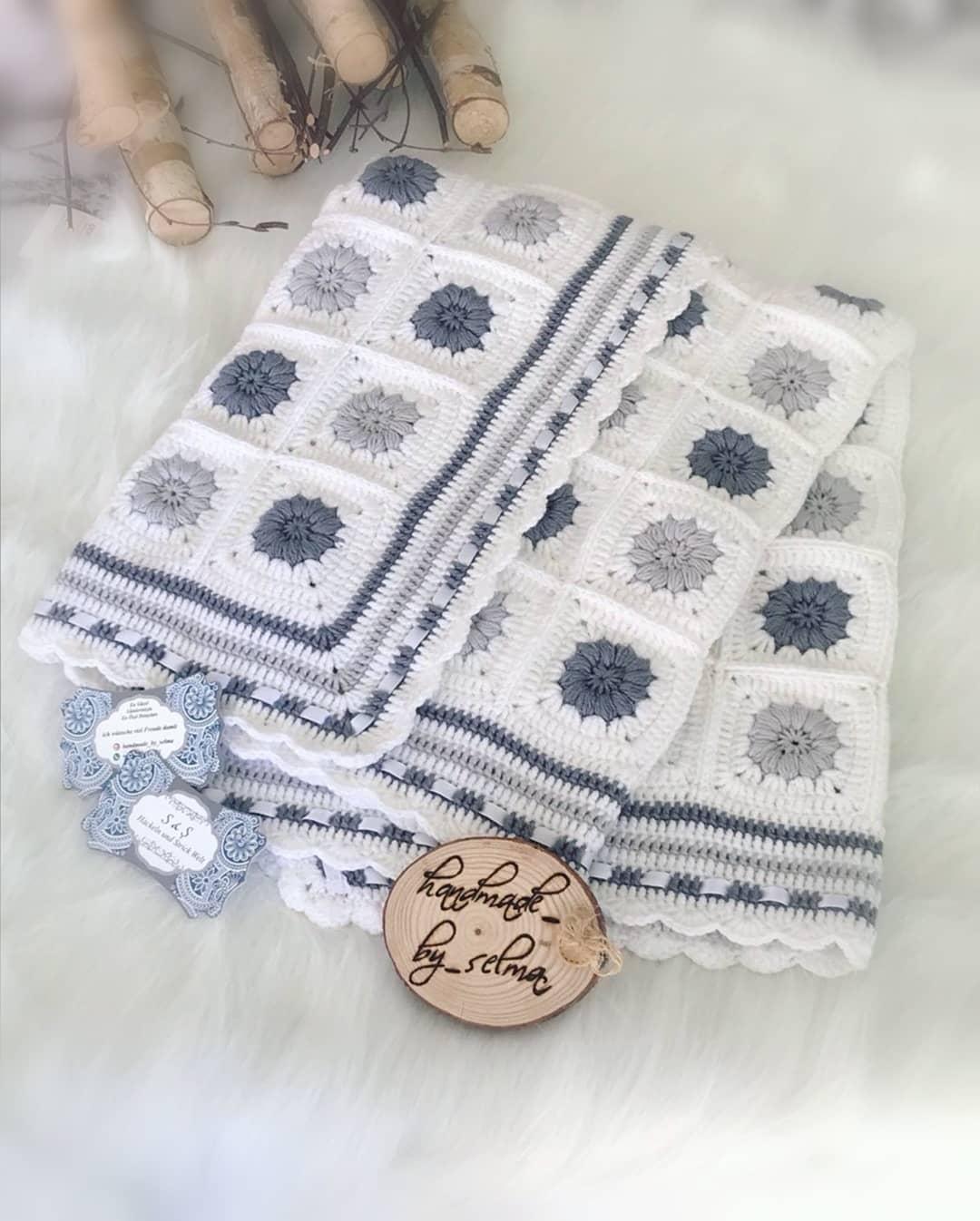 Renkler Aynı Olmasada Model Aynı Sayılır Häkeldecke - Baby Crochet