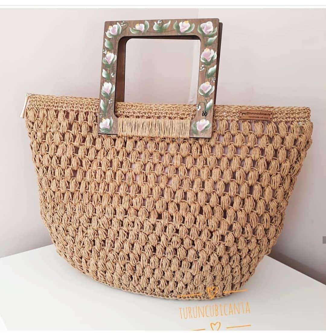 📍📍Bir Tbt Bırakıp Kaçıyorum . Mutlu G Kagitipcanta - Knitting Bag