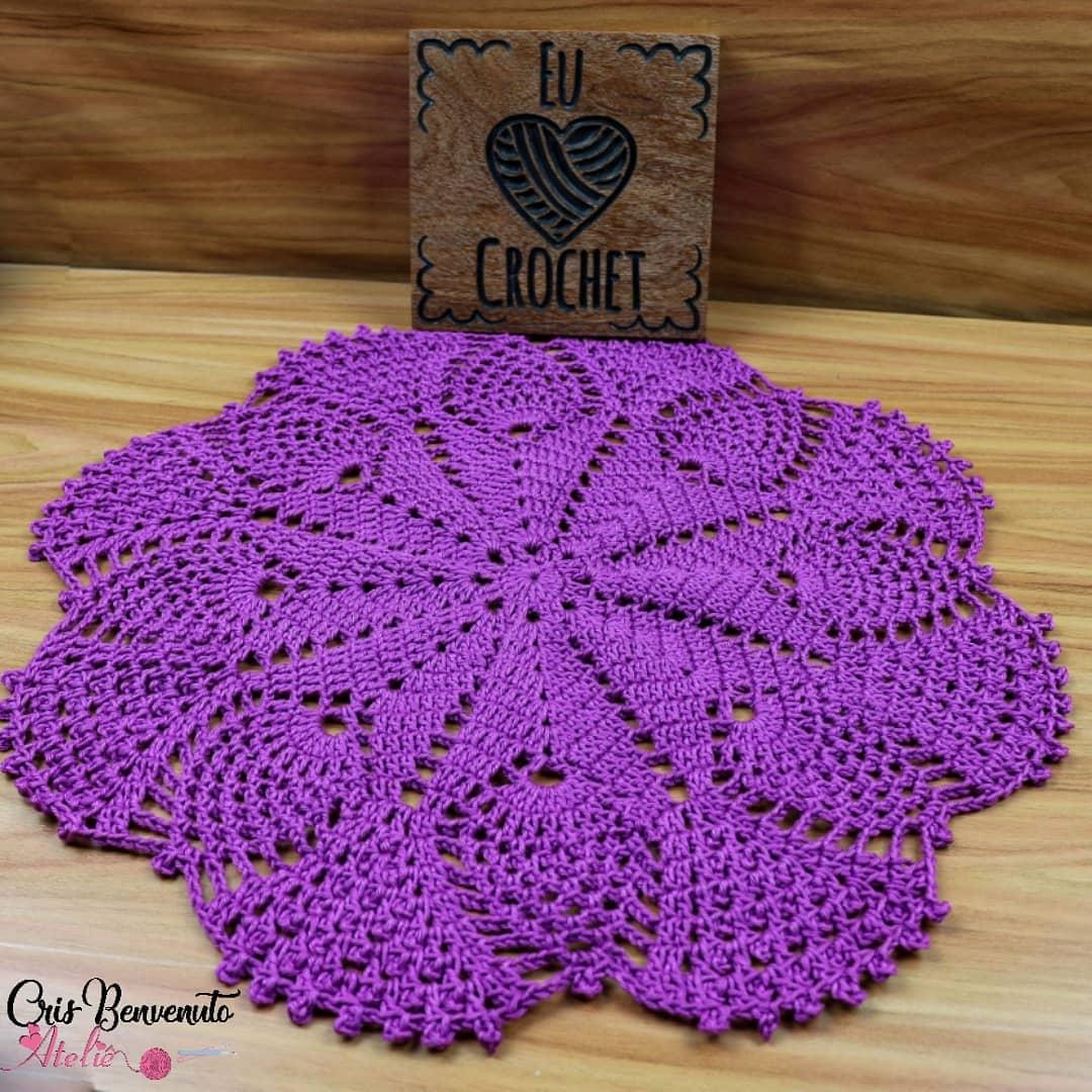Toalha Fácil💗 🎬Videoaula Aqui: ➡️ Http Crochet - Crochet Tutorial
