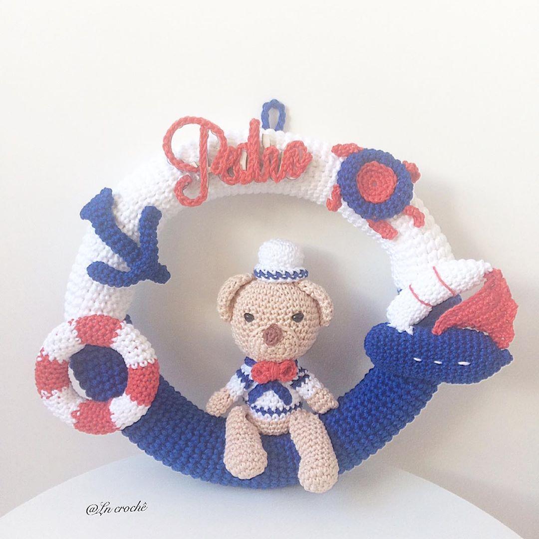 Marinheiro ⛵️⚓️, Tema Clássico Que Nunca Crochetbraids - Crochet Hat